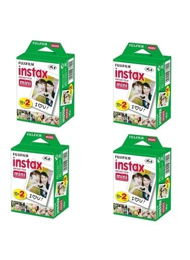 Fujifilm Instax Mini 20'li Film 4'lü Set 80 Poz Renkli